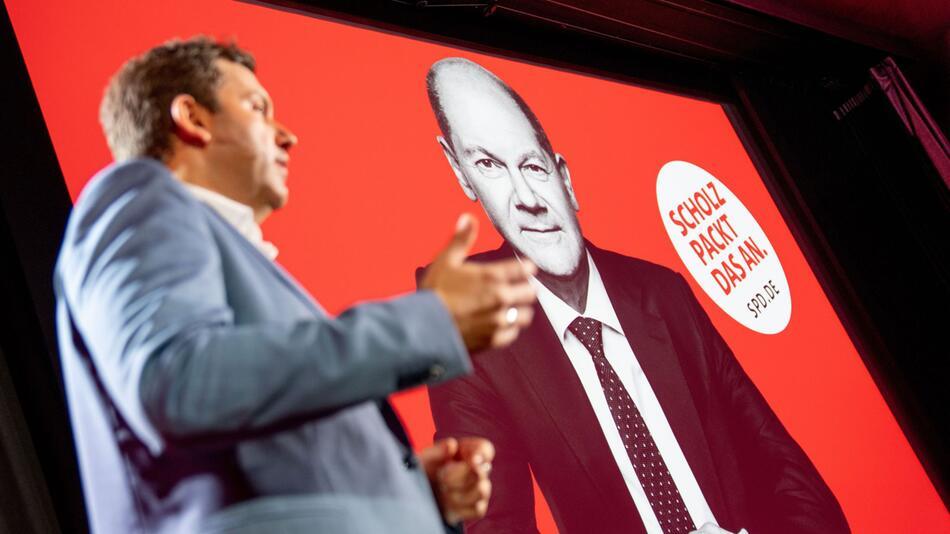 Präsentation der SPD-Bundestagswahlkampagne