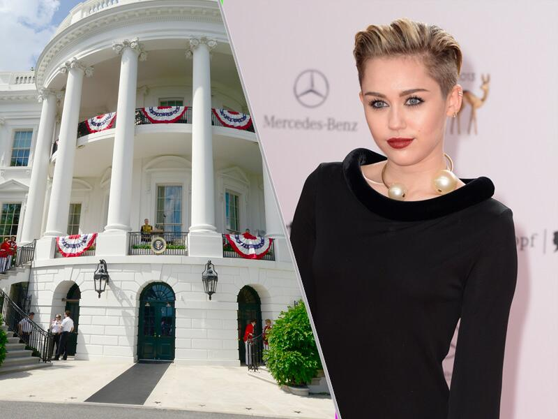 Bild zu Miley Cyrus for President