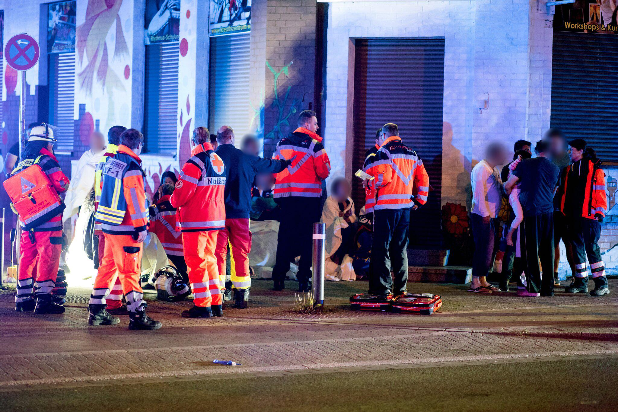 Bild zu Verletzte bei Gasaustritt in Herten