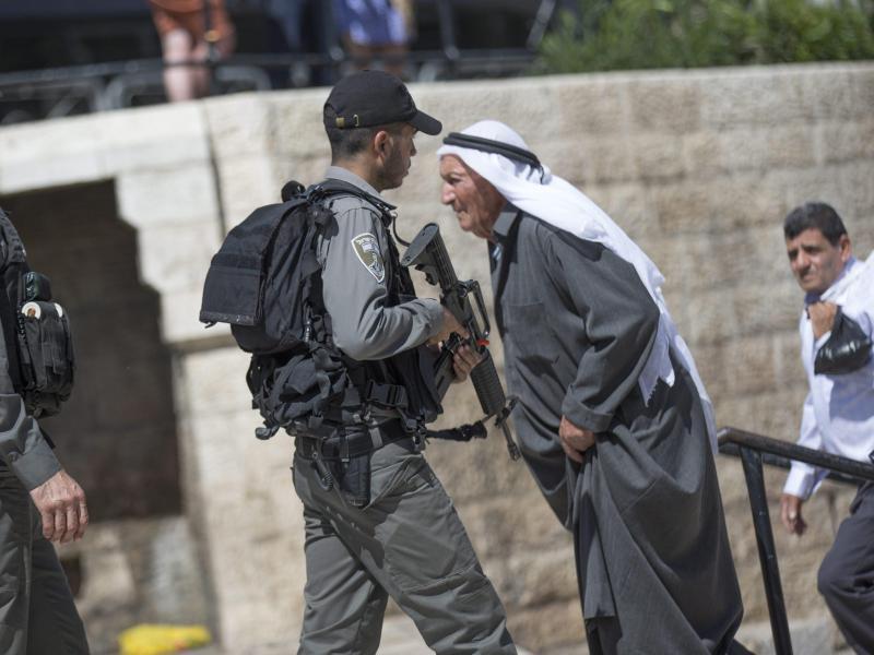 Bild zu Sicherheit in Jerusalem