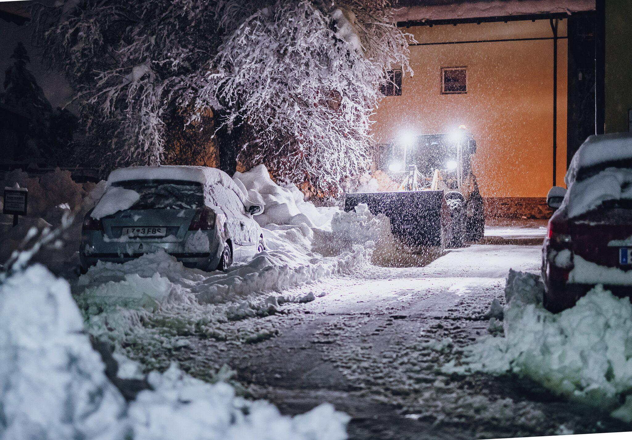 Bild zu Wintereinbruch in Österreich
