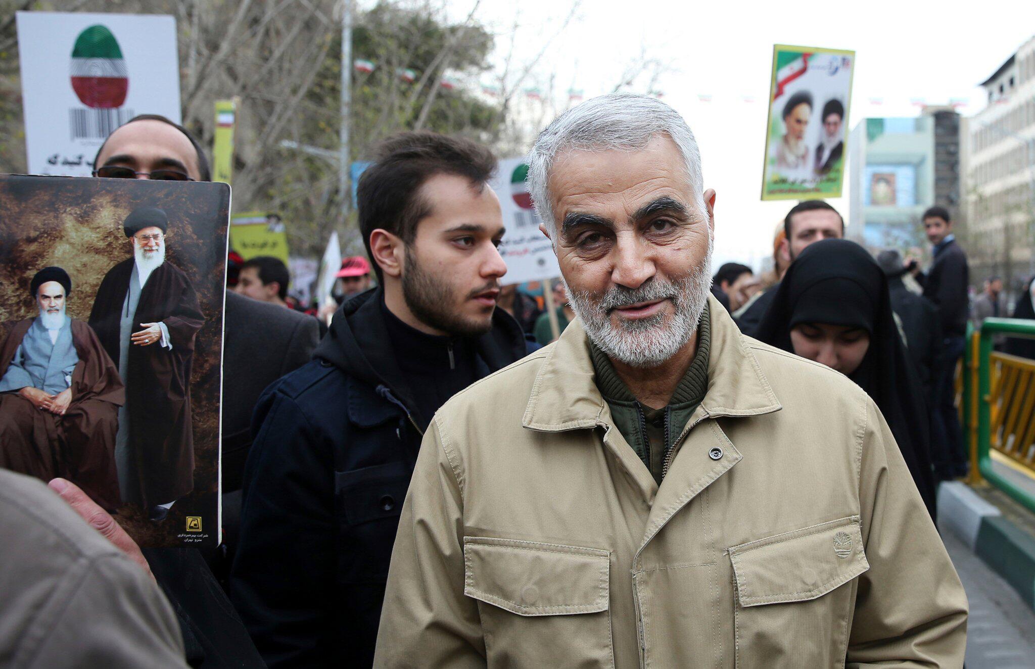 Bild zu Hoher iranischer General bei Raketenangriff im Irak getötet