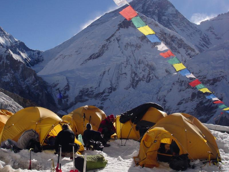 Bild zu Zelte auf dem Mount Everest