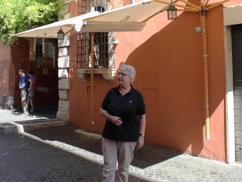 Bild zu Annette Schavan in Trastevere