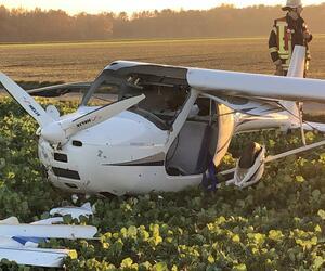 Leichtflugzeuge kollidieren bei Erkelenz - ein Pilot tot