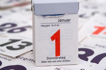 Am 1. Januar ändert sich einiges