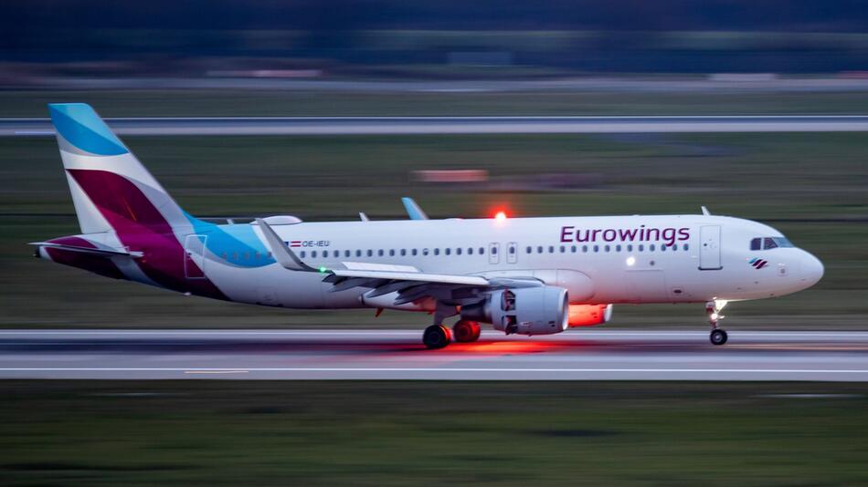 Warnstreik bei Eurowings in Düsseldorf