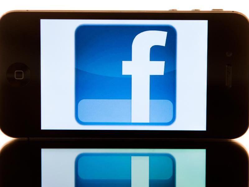 Bild zu Logo des sozialen Netzwerks Facebook