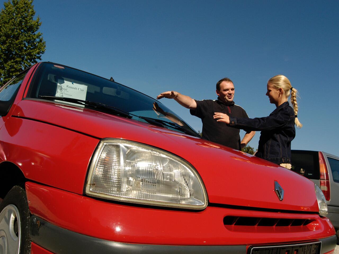 Bild zu Wer sein Auto in Zahlung geben möchte, sollte sich gut vorbereiten