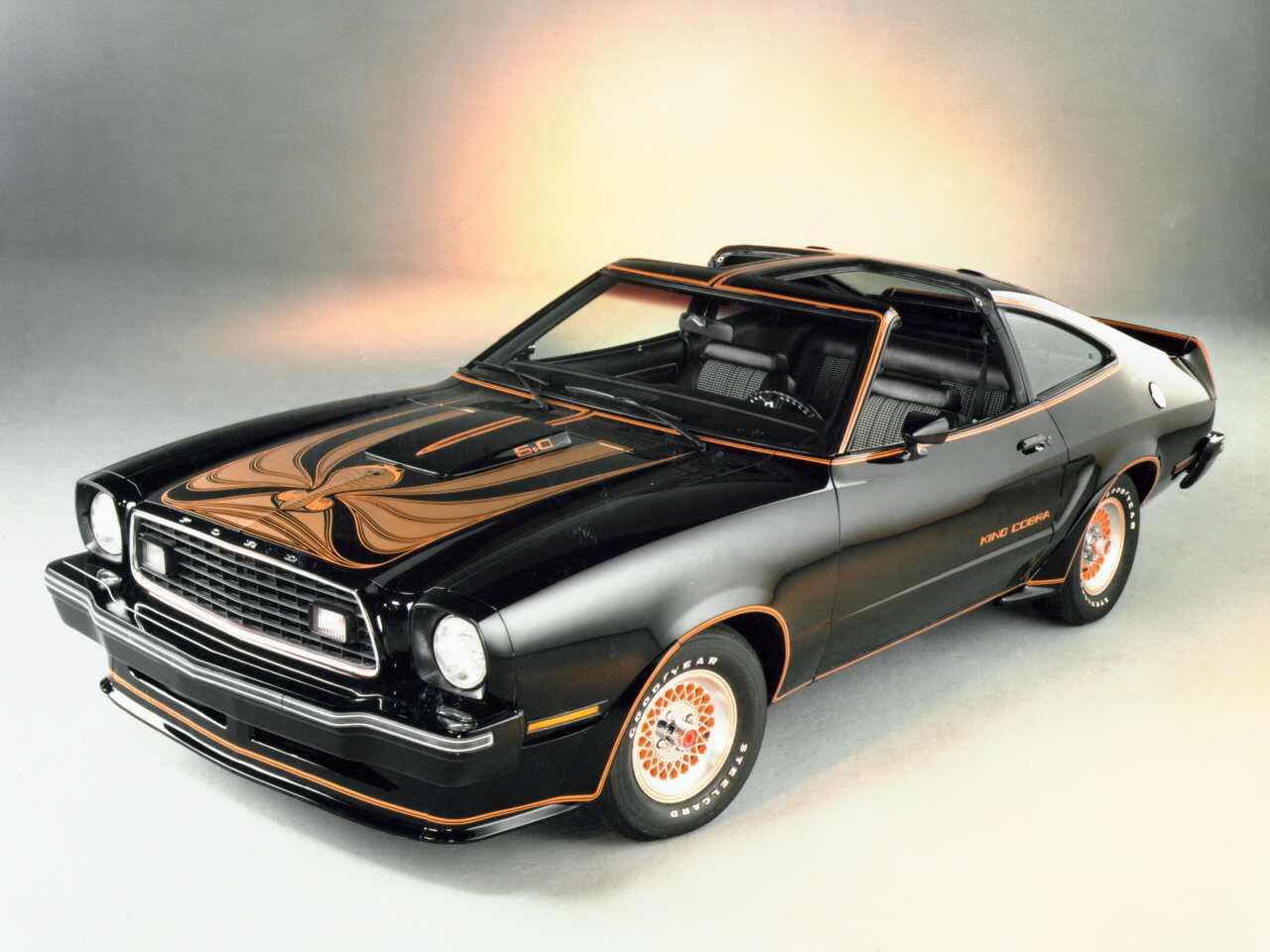 Bild zu Ford Mustang II King Cobra (1978)