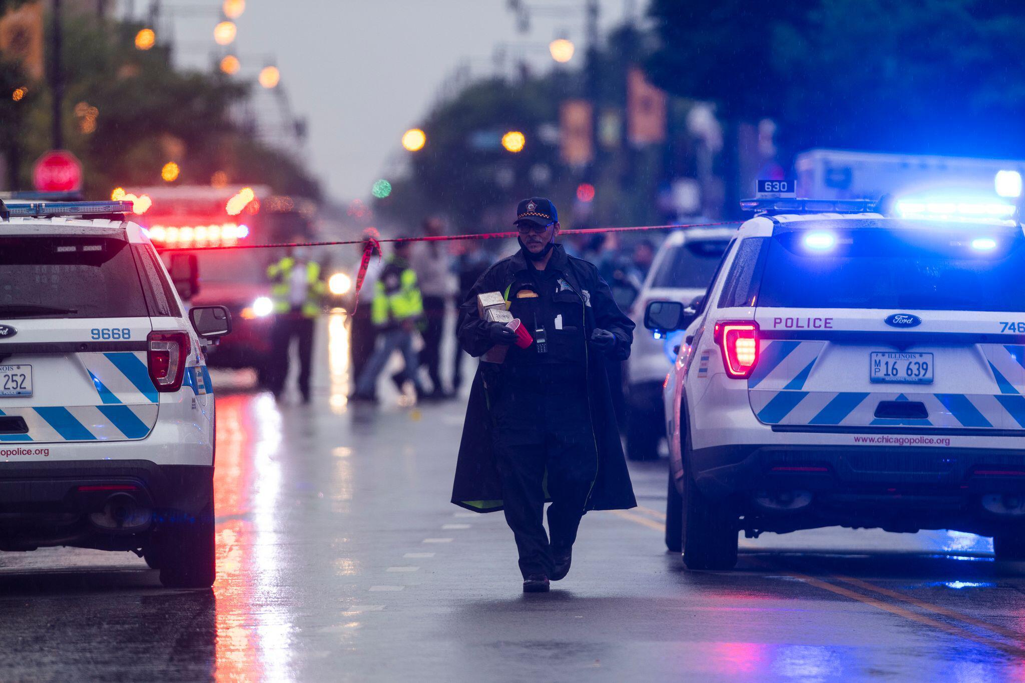 Bild zu Schießerei in Chicago