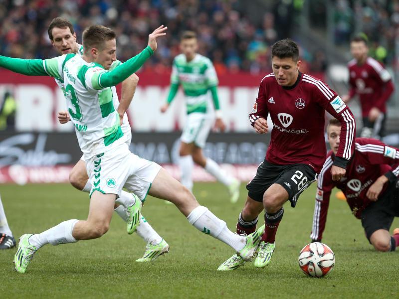 Bild zu 1. FC Nürnberg - SpVgg Greuther Fürth