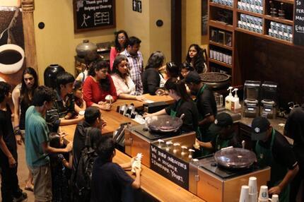 Starbucks in Mumbai