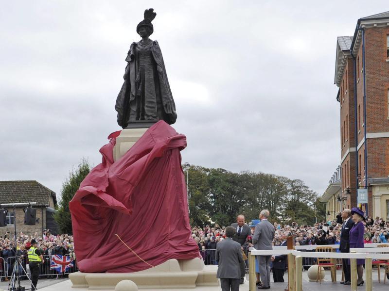 Bild zu Denkmal Queen Mum