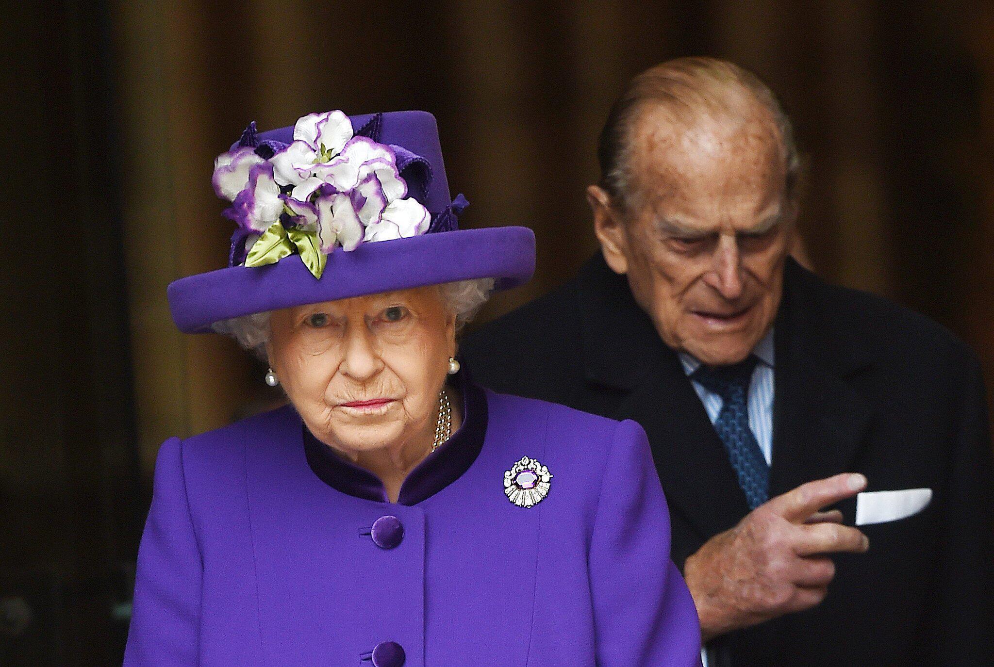 Bild zu Queen Elizabeth II und ihr Mann Prinz Philip