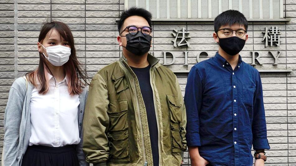 Gerichtsprozess gegen Aktivisten in Hongkong
