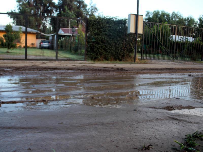 Bild zu Überschwemmte Straße