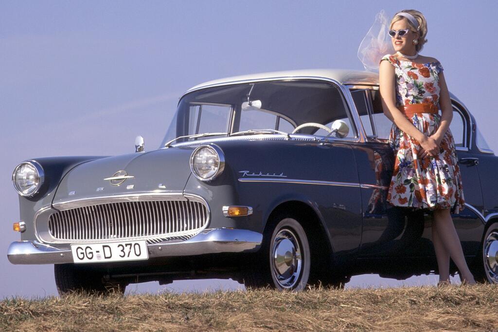 """Opel Olympia Rekord: """"Haifischmaul"""""""