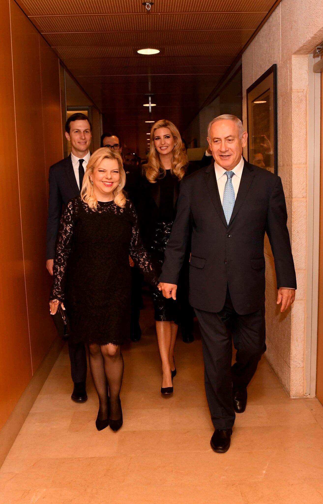 Bild zu US-Delegation zur Botschaftseröffnung in Jerusalem