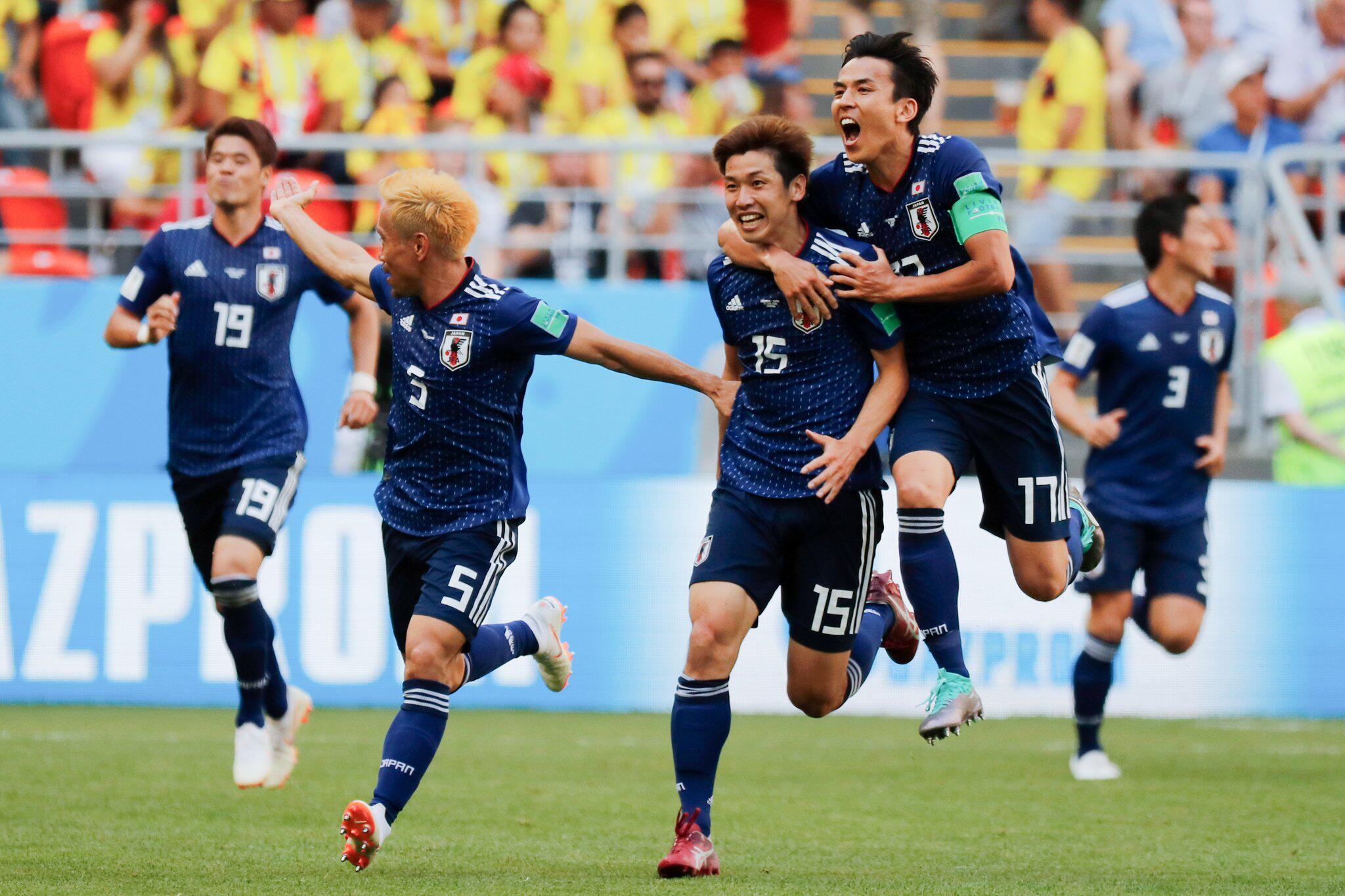 Bild zu WM 2018 - Kolumbien - Japan