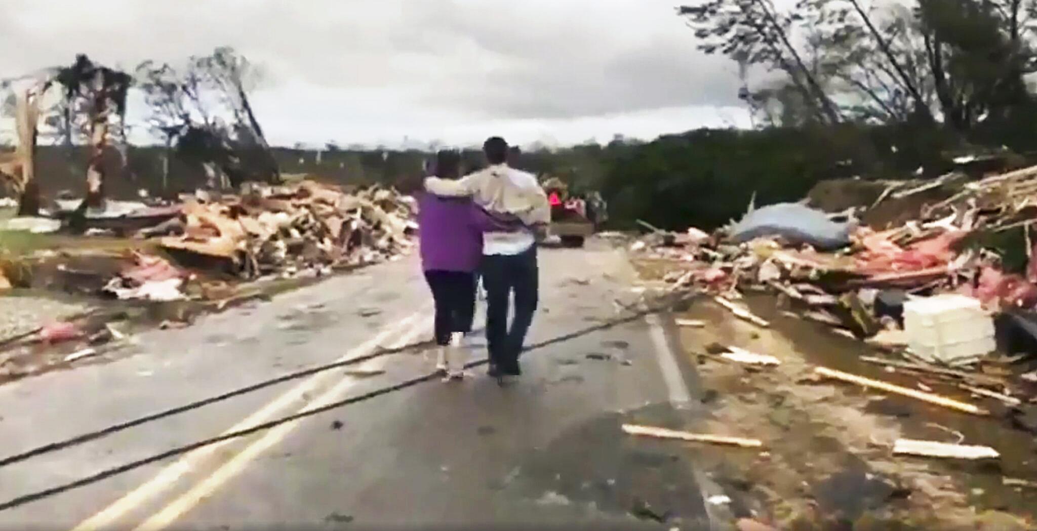 Bild zu Tornados in den USA