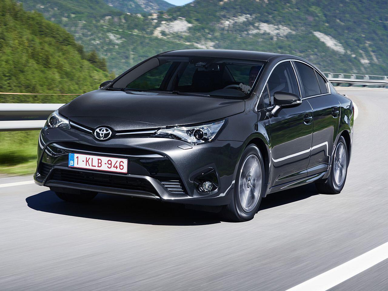 Bild zu Platz 10: Toyota Avensis