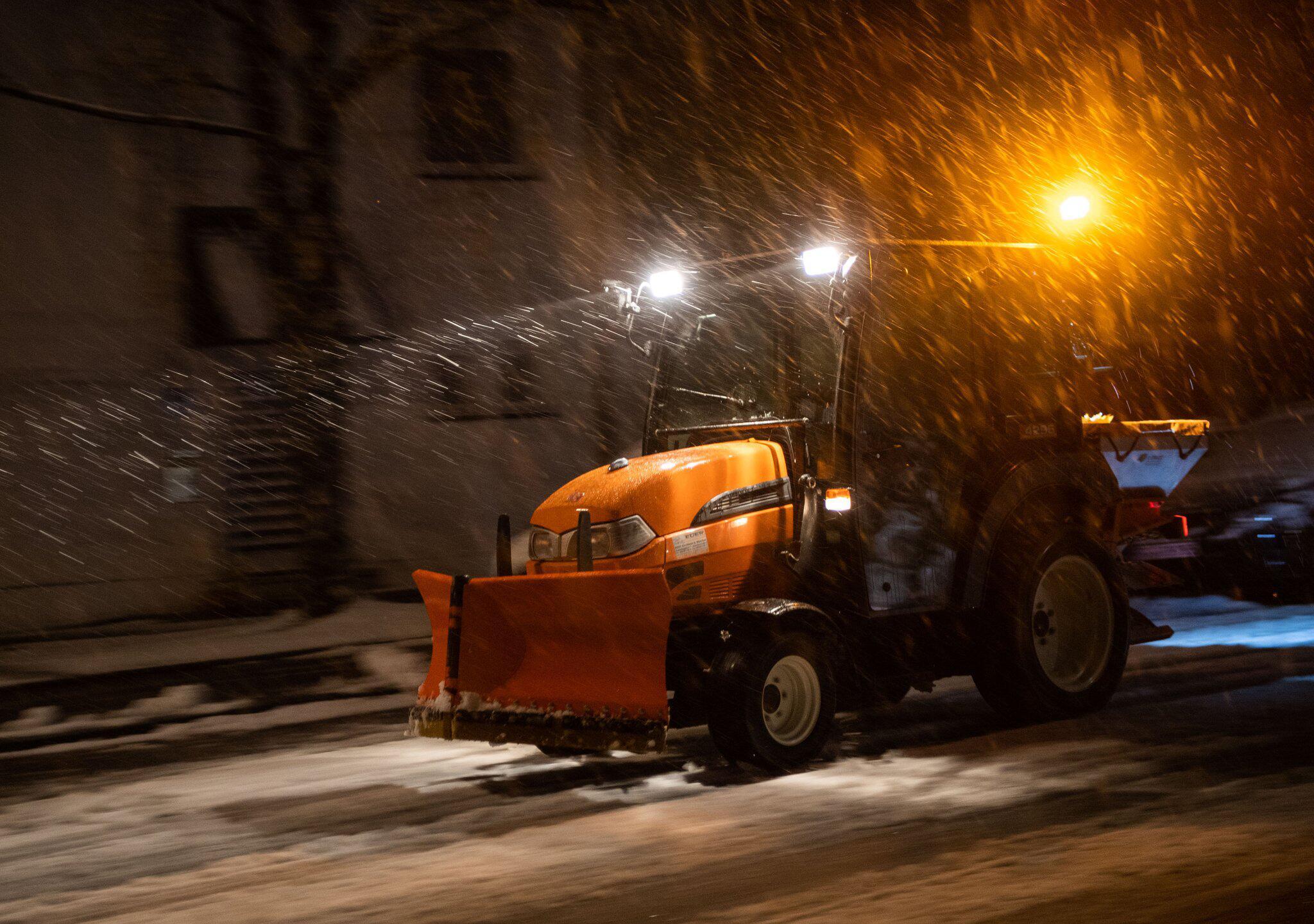 Bild zu Schneefälle in Bayern
