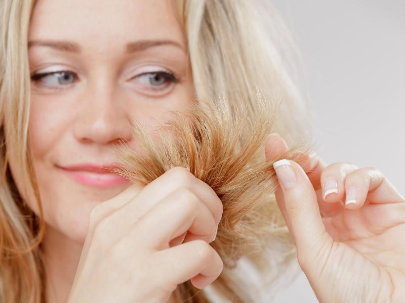 Bild zu Wie sehen die Haarspitzen aus?