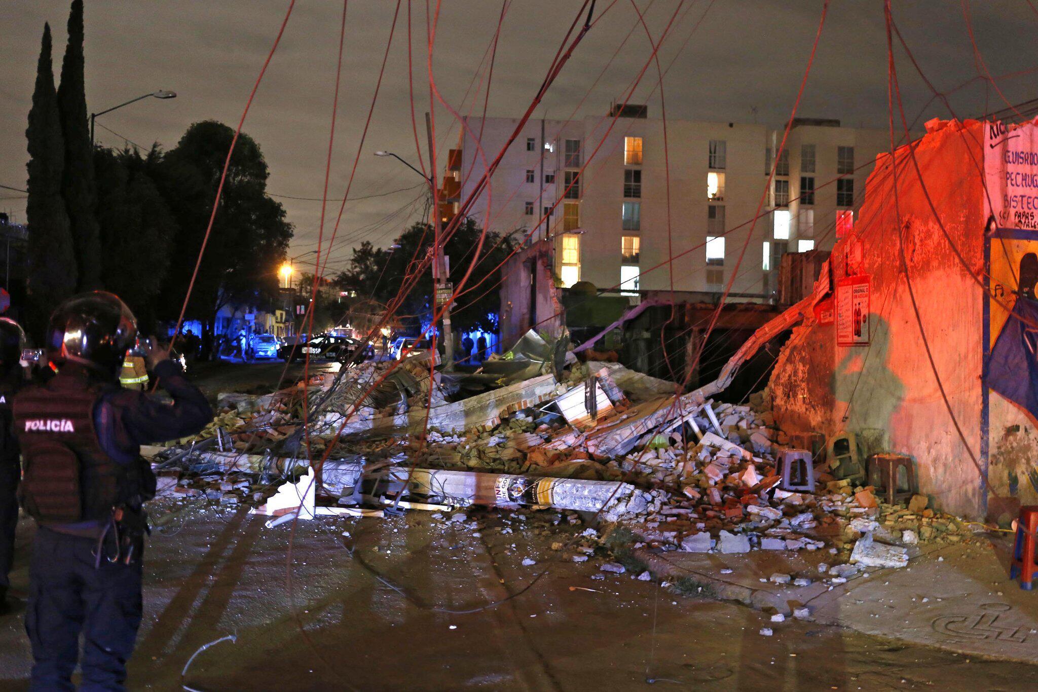 Bild zu Schweres Erdbeben in Mexiko