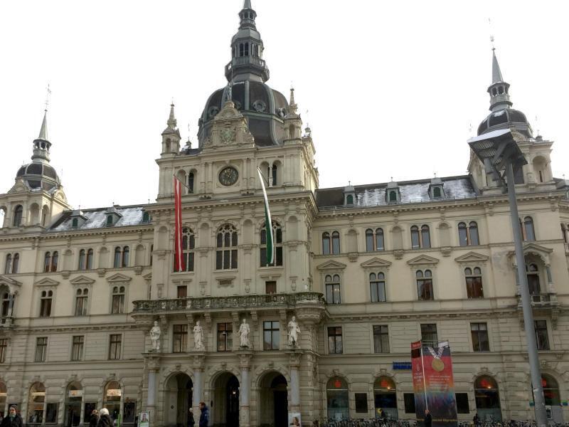 Bild zu Rathaus von Graz