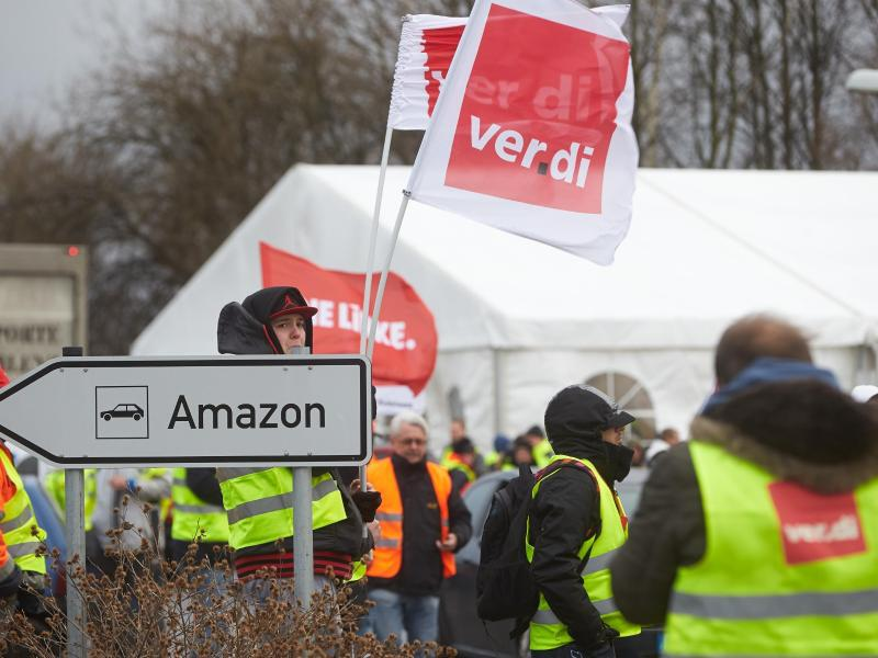 Bild zu Streik bei Amazon
