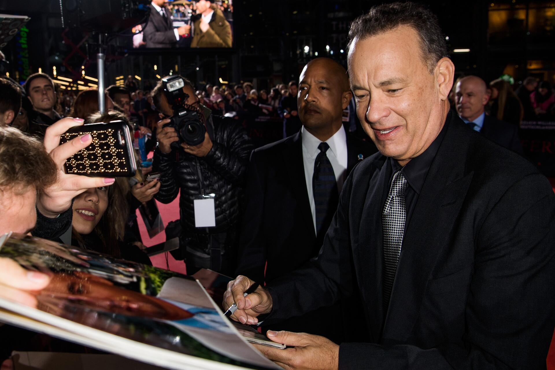 Bild zu Tom Hanks, Inferno, Premiere, Berlin