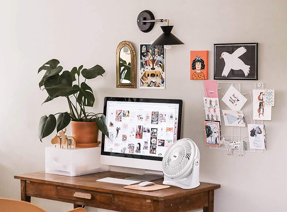 Tischventilator, Abkühlung, Hitze, Sommer, heiß, Ventilator