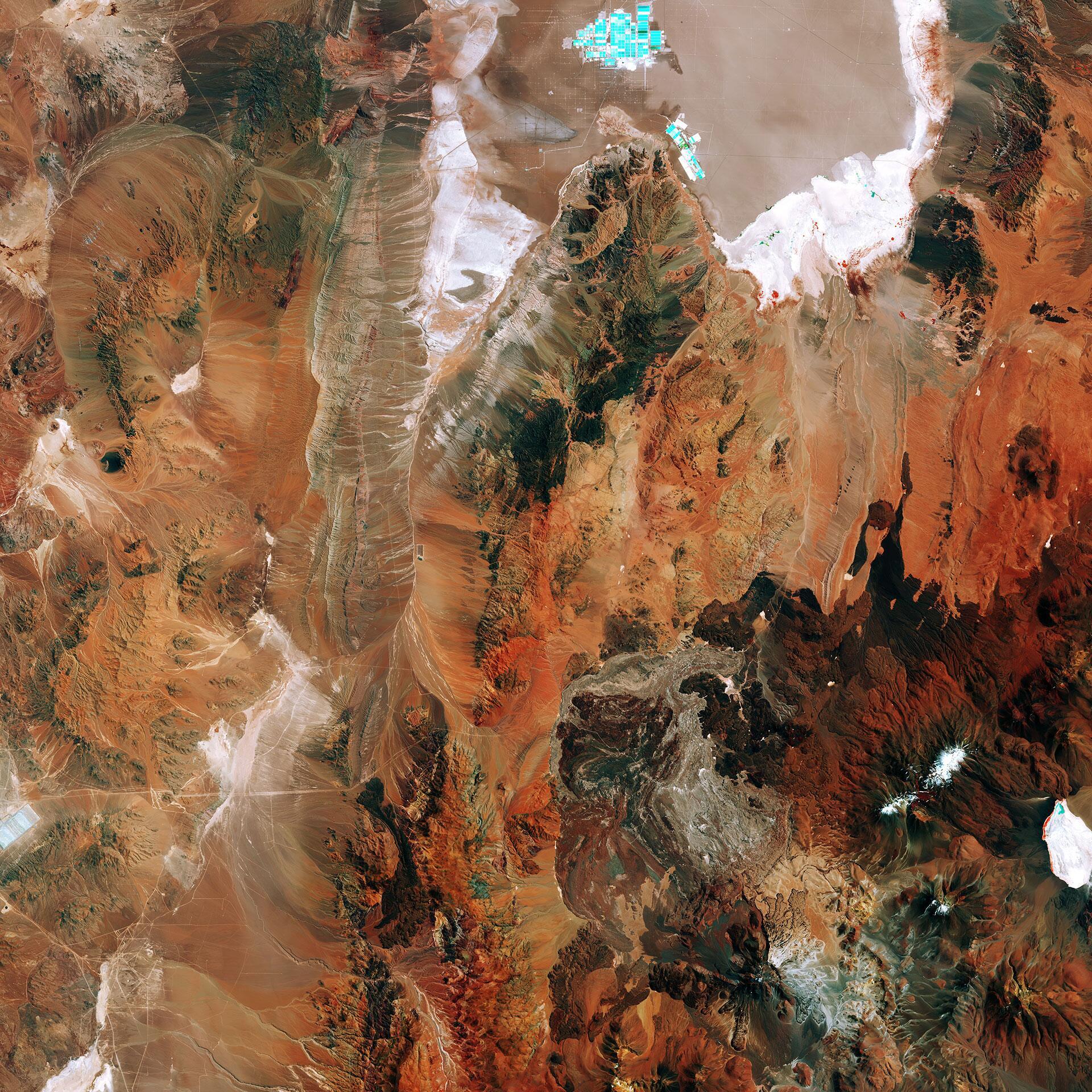 Bild zu Chiles Salzsee
