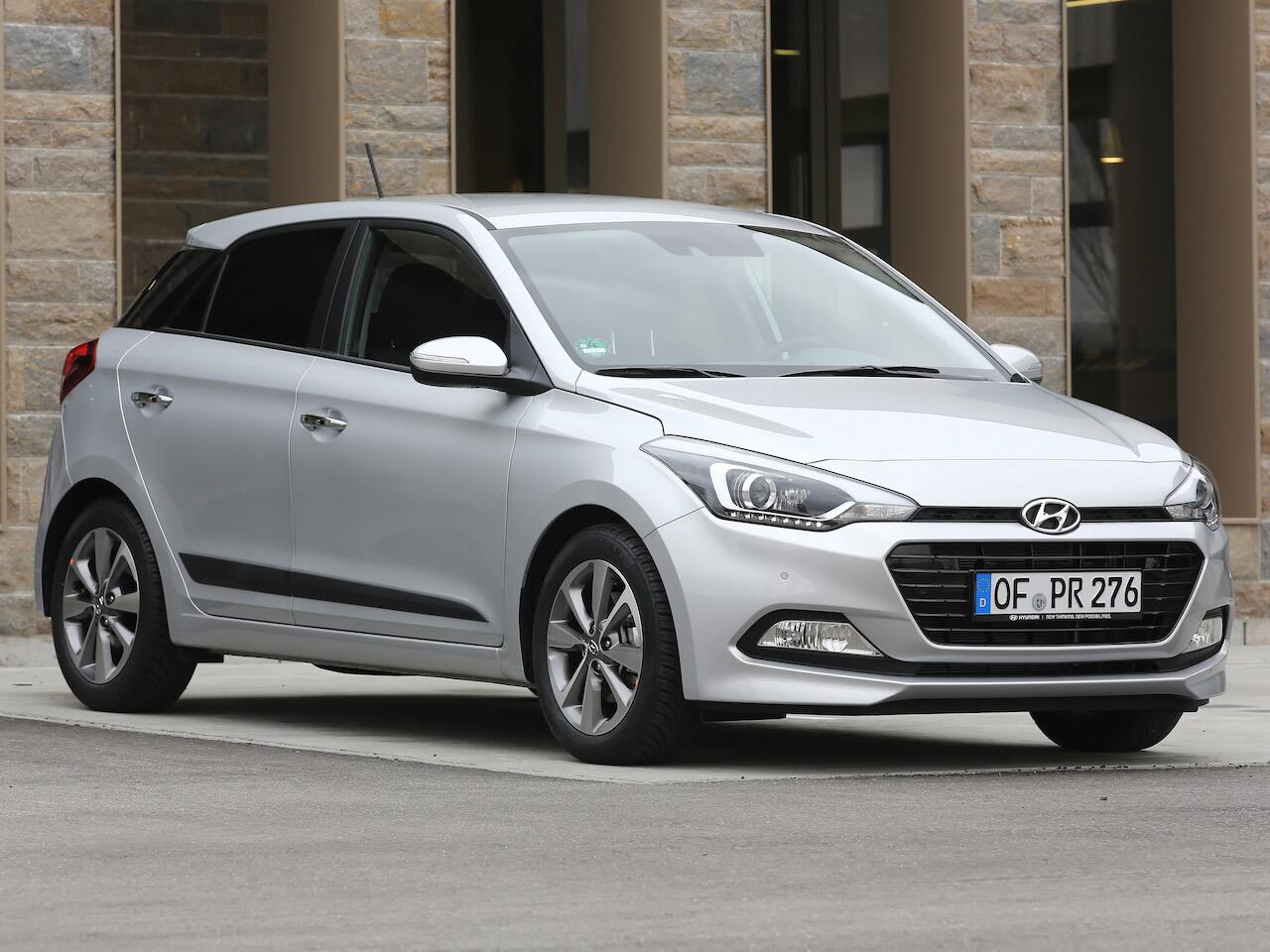 Bild zu Platz 7: Hyundai i20