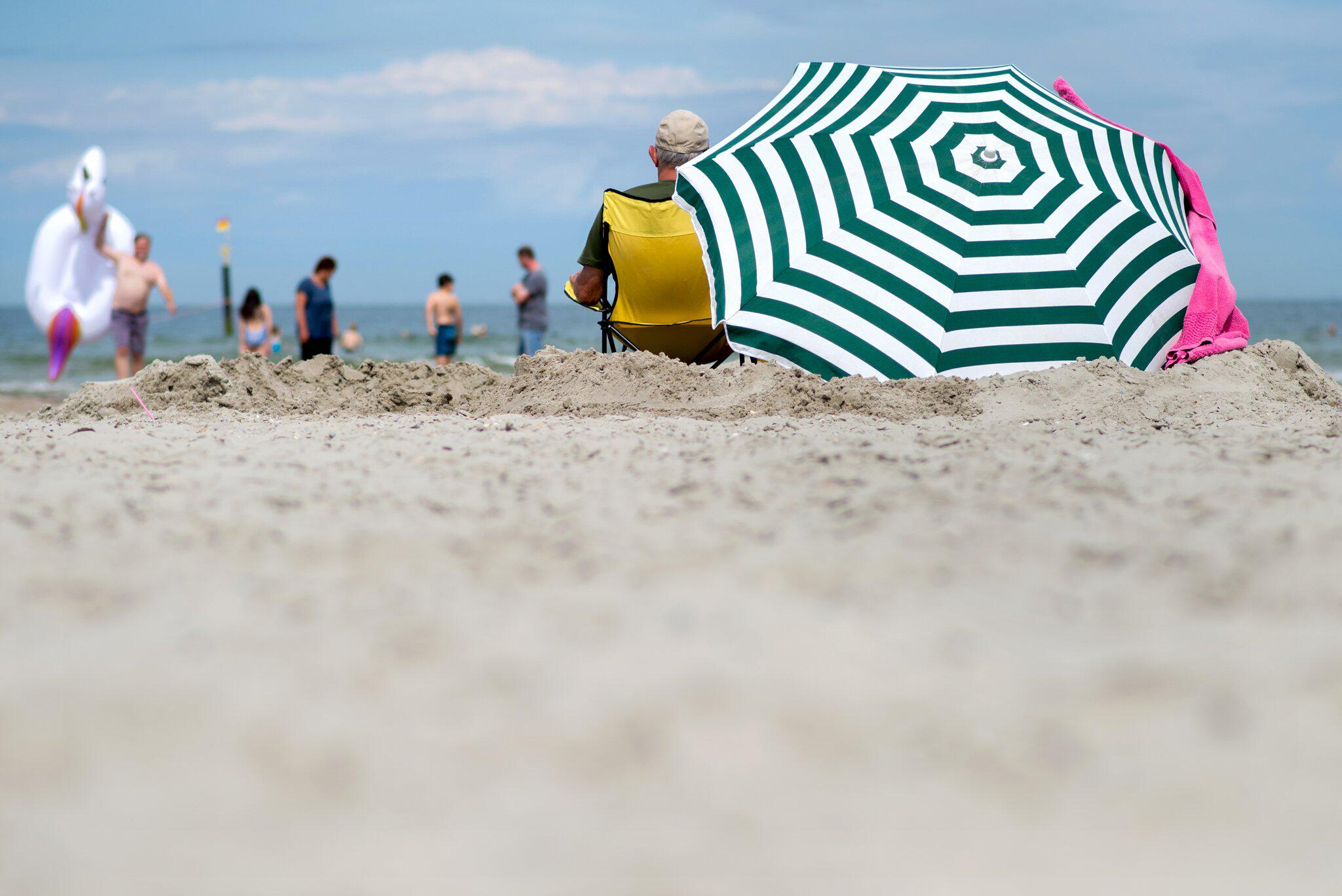 Bild zu Am Strand