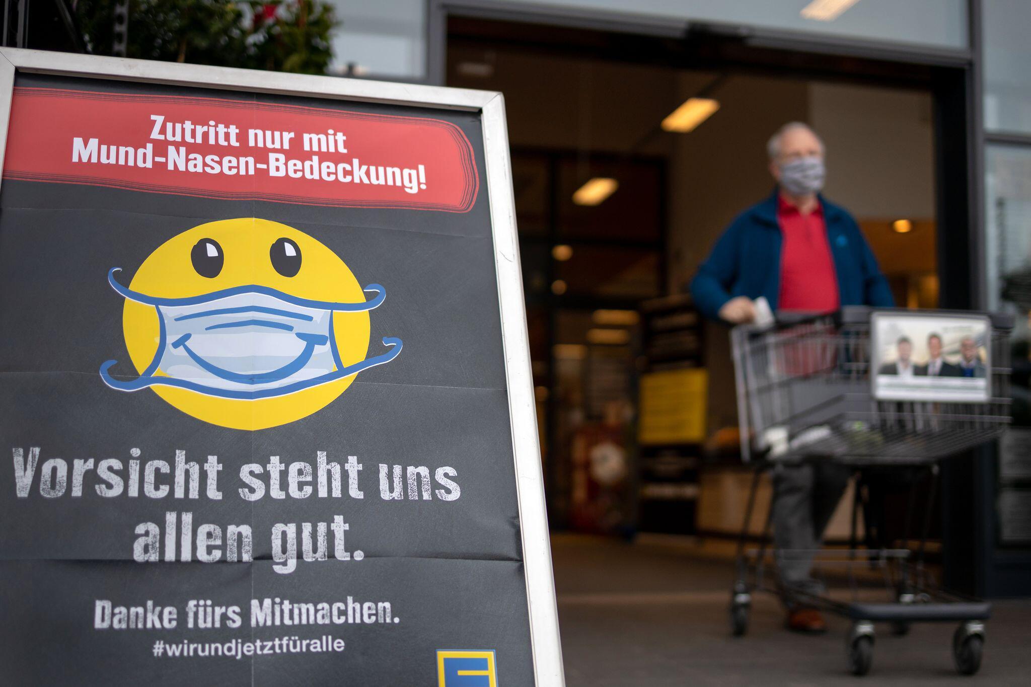 Bild zu Coronavirus - Thüringen führt Mundschutzpflicht ein
