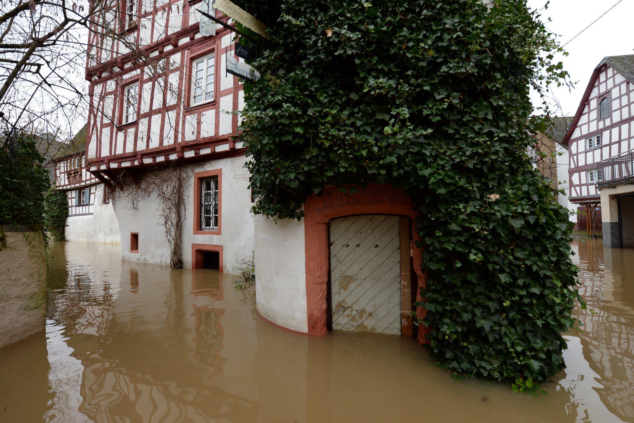 Bild zu Hochwasser der Mosel