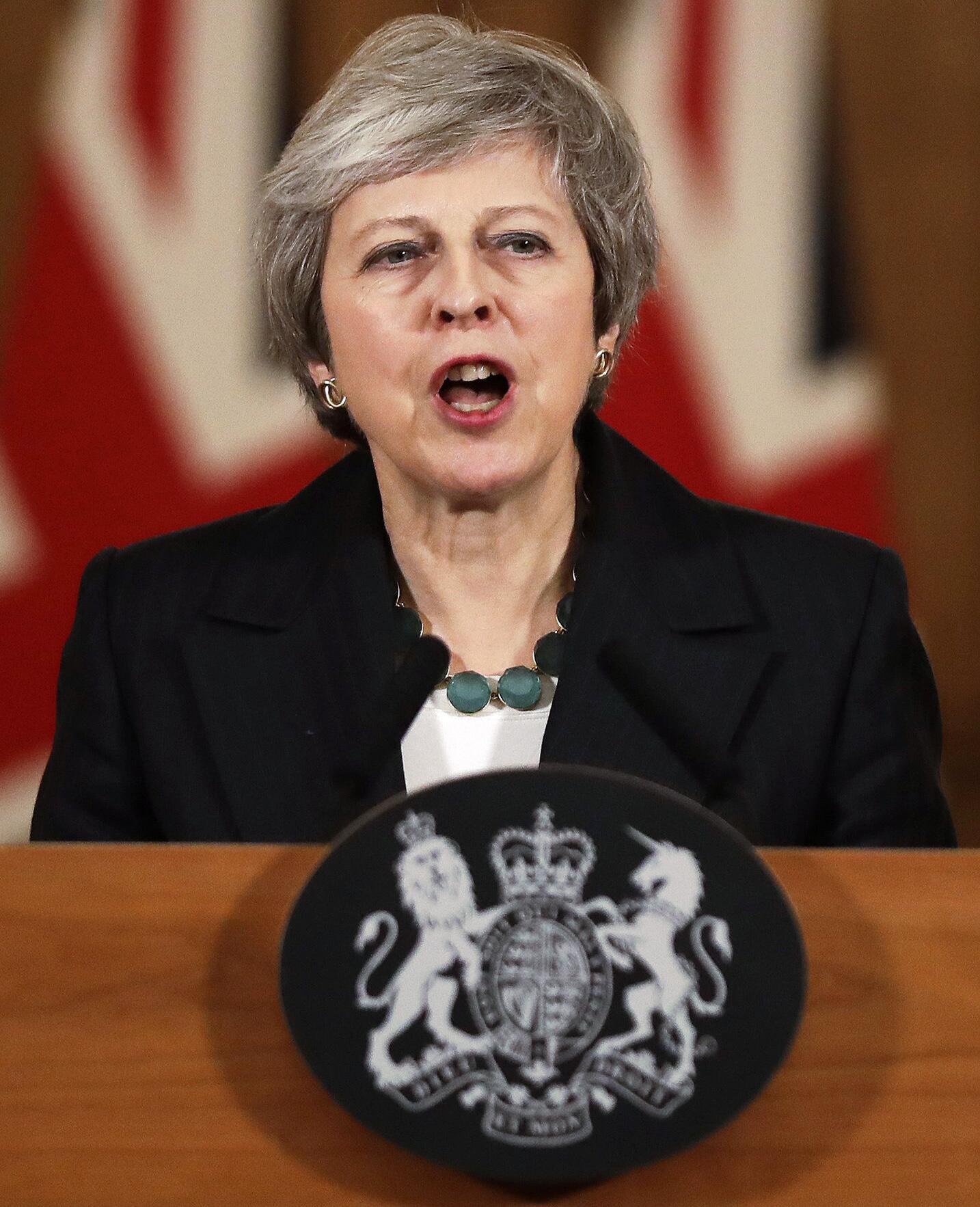 Bild zu Brexit - Theresa May