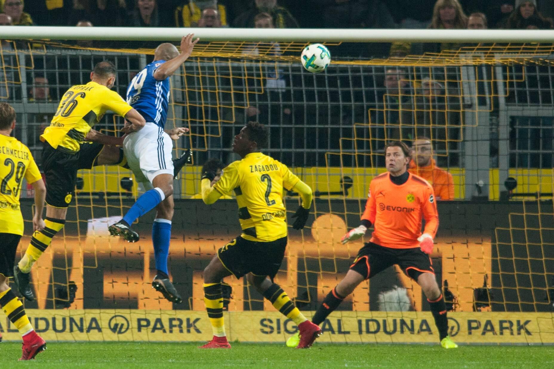 Bild zu Fußball, Bundesliga, Borussia Dortmund, BVB, FC Schalke 04, S04, Derby, Historie, 2017