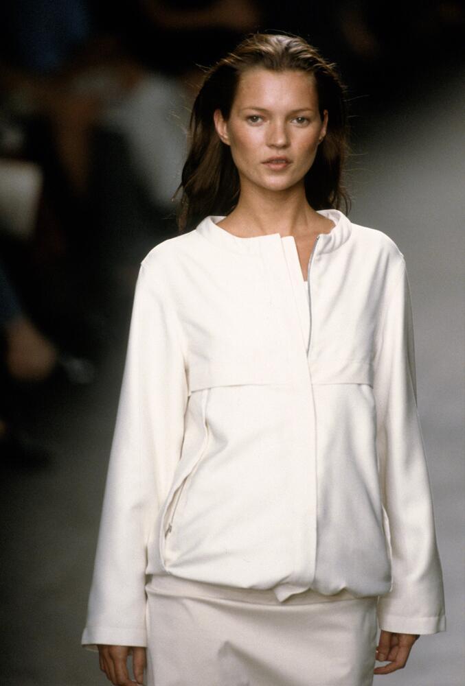 Bild zu Kate Moss lief für Calvin Klein auch schon über den Laufsteg