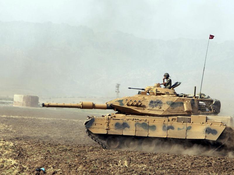 Bild zu Türkischer Panzer