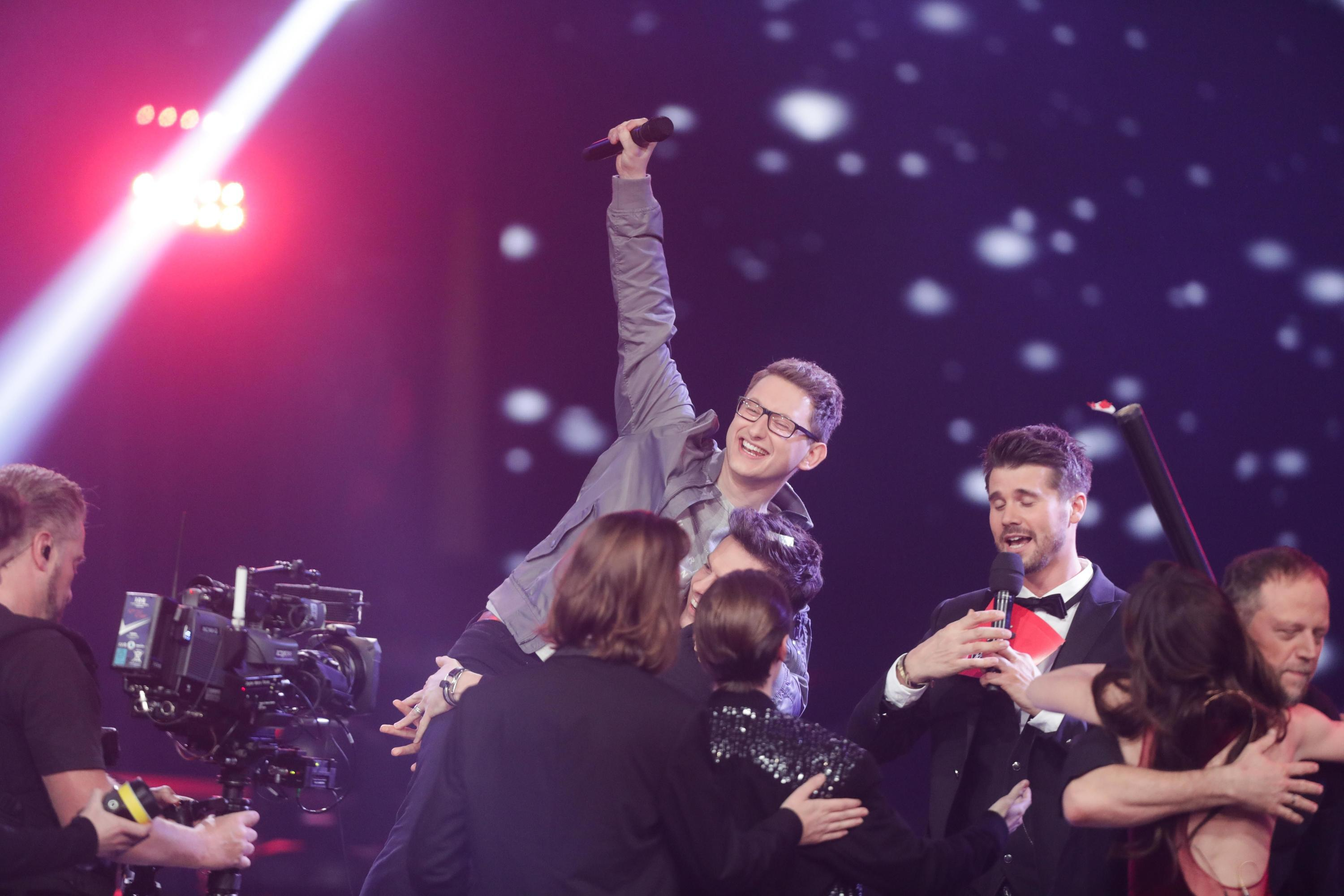 Bild zu The Voice of Germany Samuel Rösch
