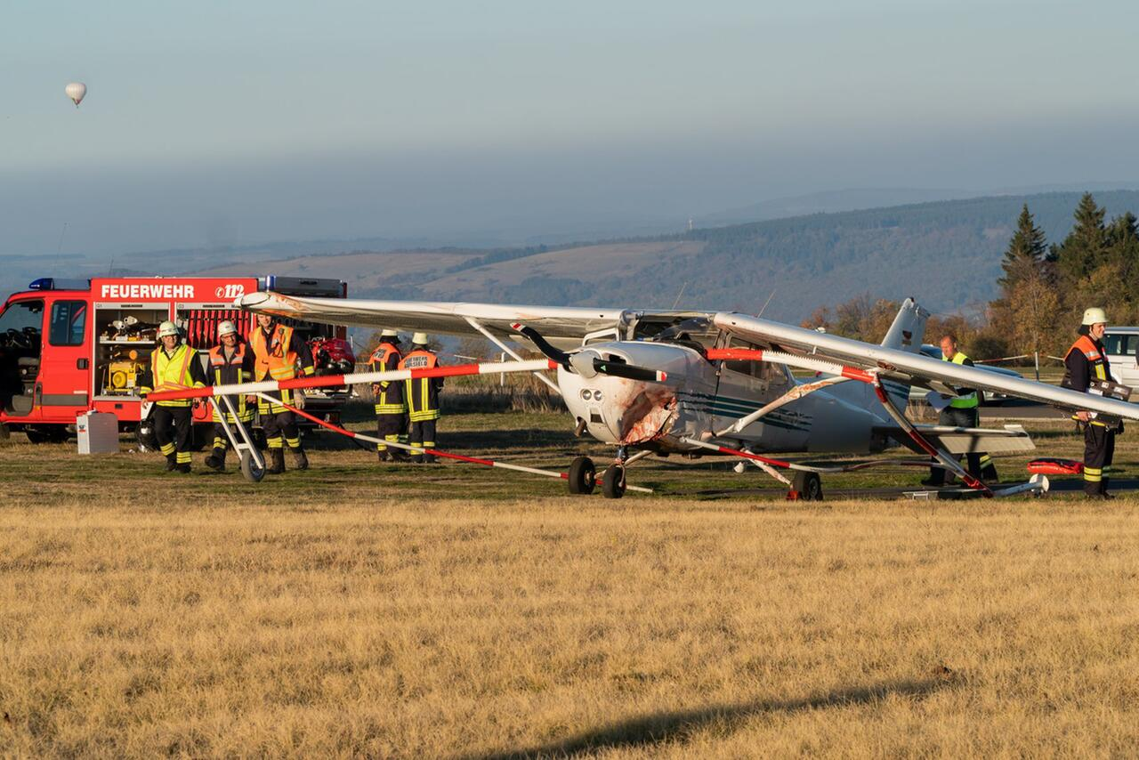 Bild zu Fatal aircraft accident on the Wasserkuppe