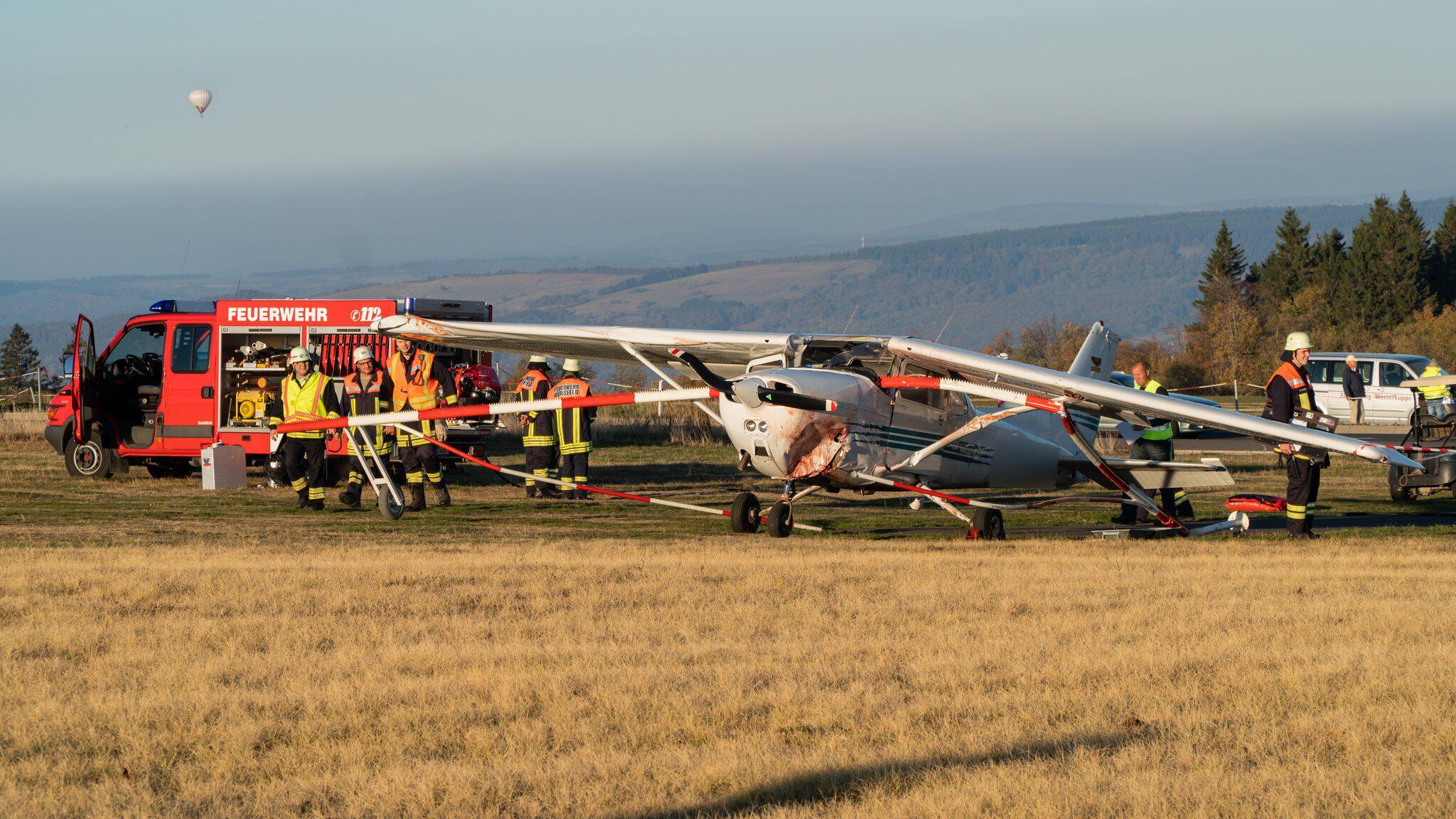 Bild zu Fatal aircraft accident on the Wasserkuppe