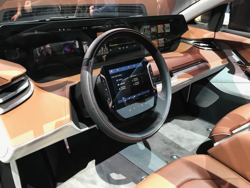 Bild zu Byton-SUV