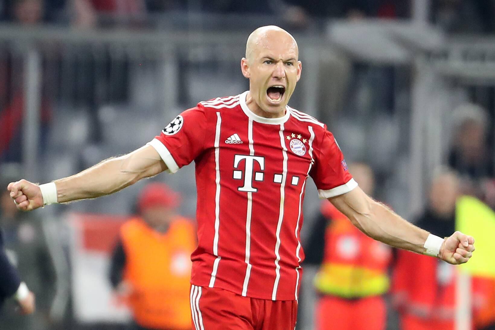 Bild zu FC Bayern, Real Madrid, Arjen Robben, Champions League, La Bestia Negra