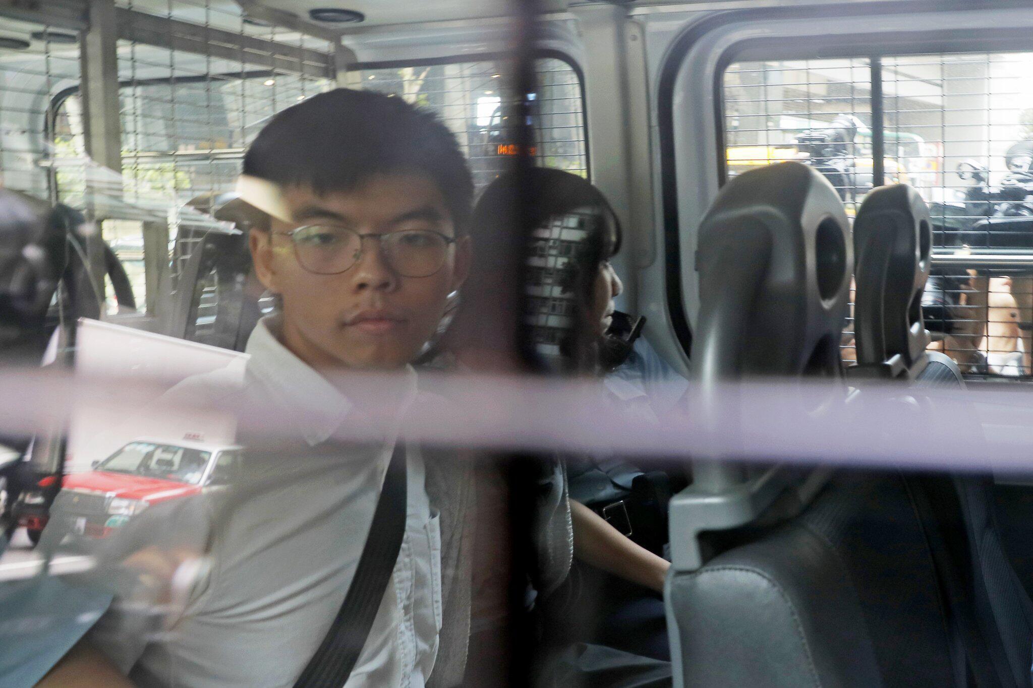 Bild zu Proteste in Hongkong - Festnahmen