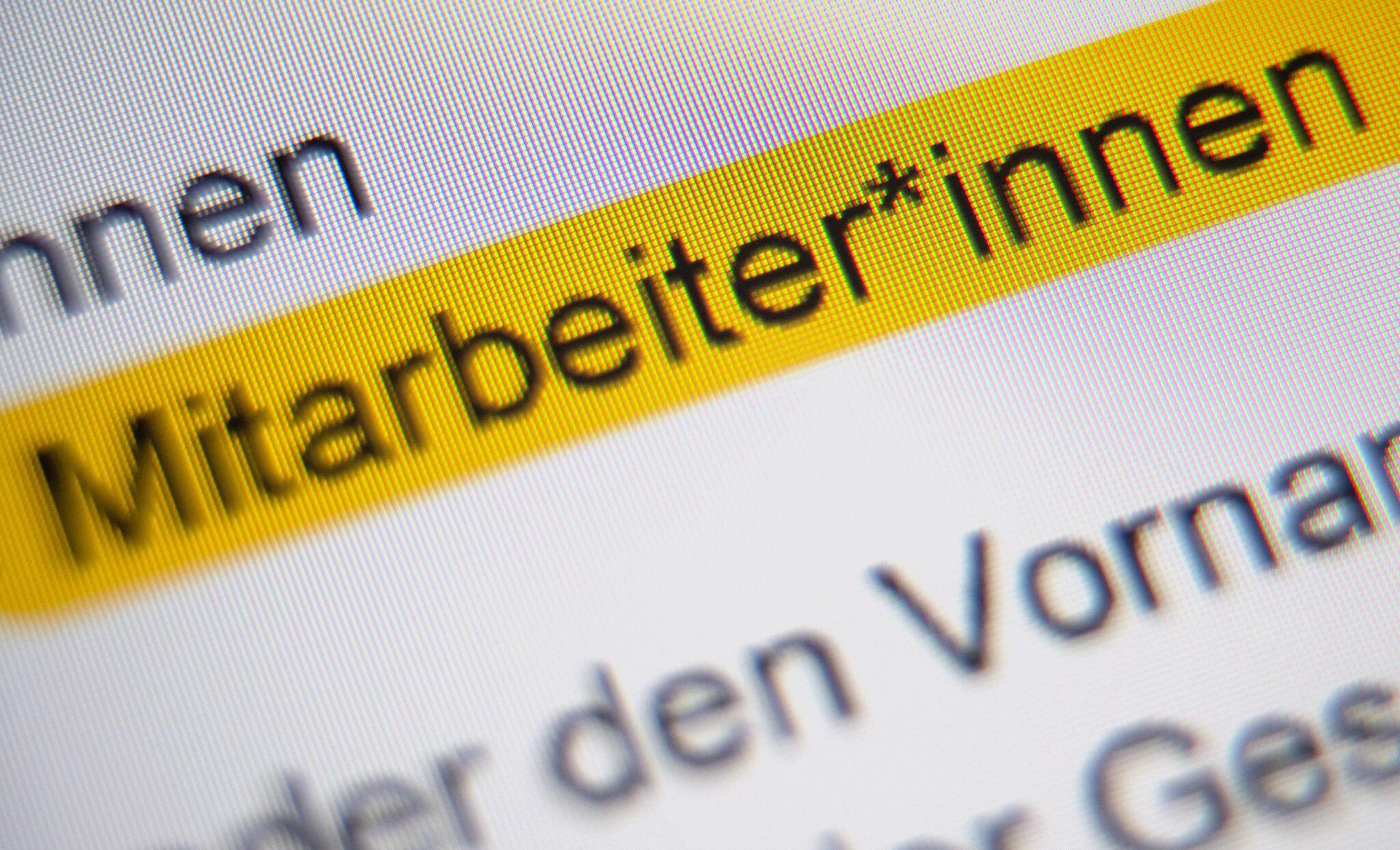 Bild zu Gesellschaft für deutsche Sprache lehnt dasGendersternchen ab