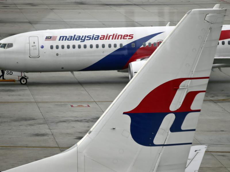 Bild zu Malaysia-Airlines-Maschinen